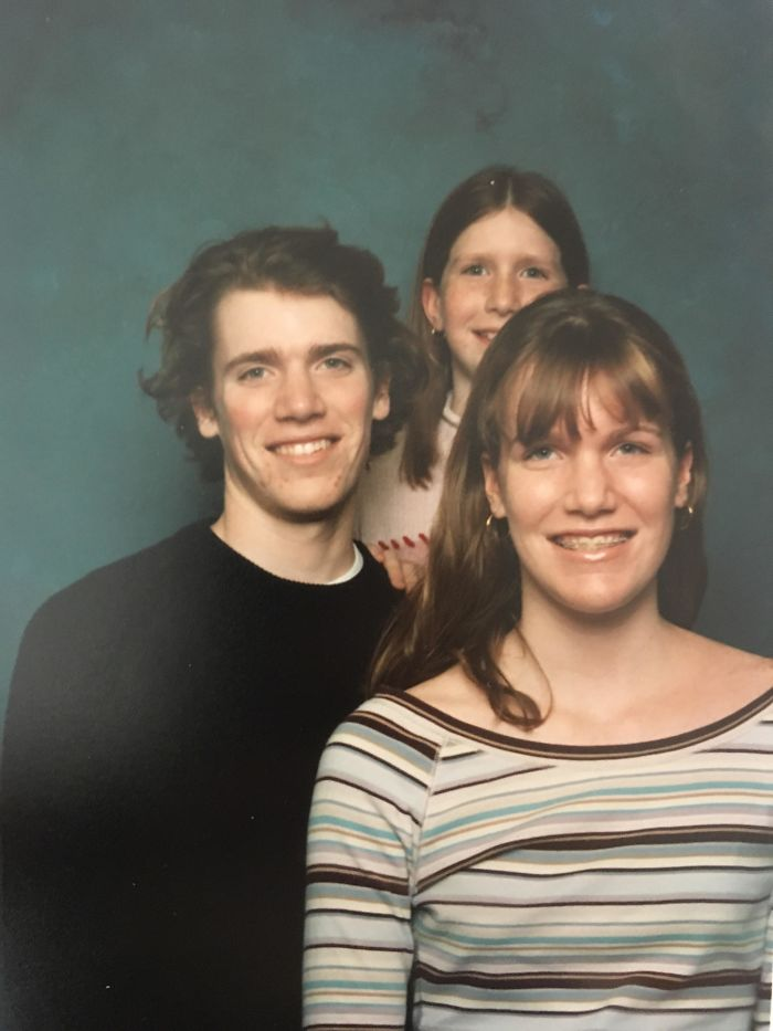 And We Thought Our Family Portrait From Walmart Actually Came Out Good. Circa 2003