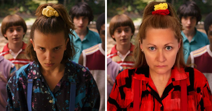 I Recreate The Awesome '80s Looks From Stranger Things That Cost Almost Nothing (9 Pics)