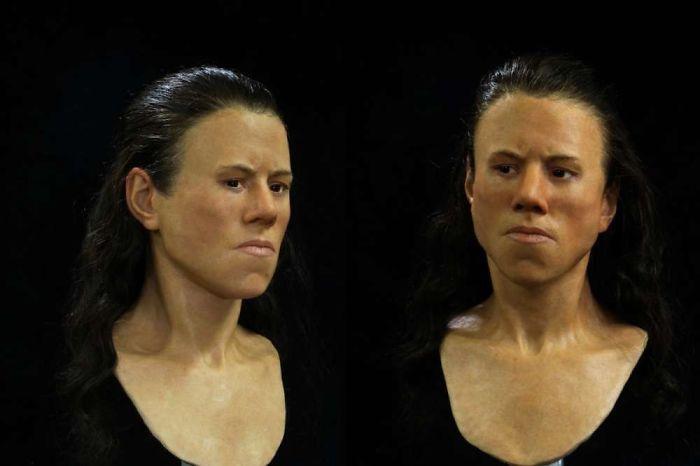 Esta es la cara de un adolescente que vivió hace 9,000 años