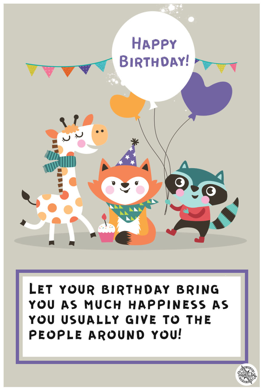 Birthday Card Happiness
