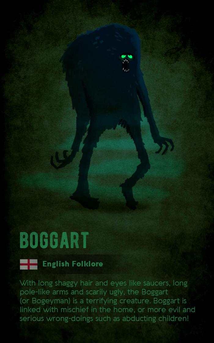Boggart - English Folklore