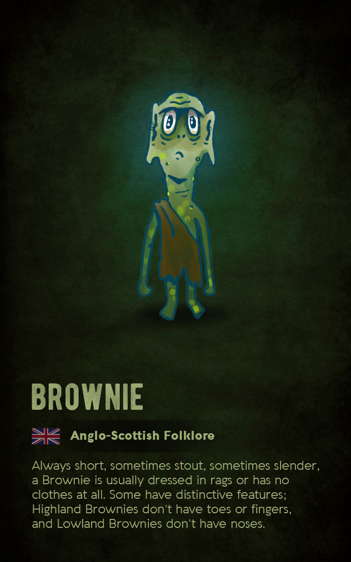 Brownie – Anglo-Scottish Folklore