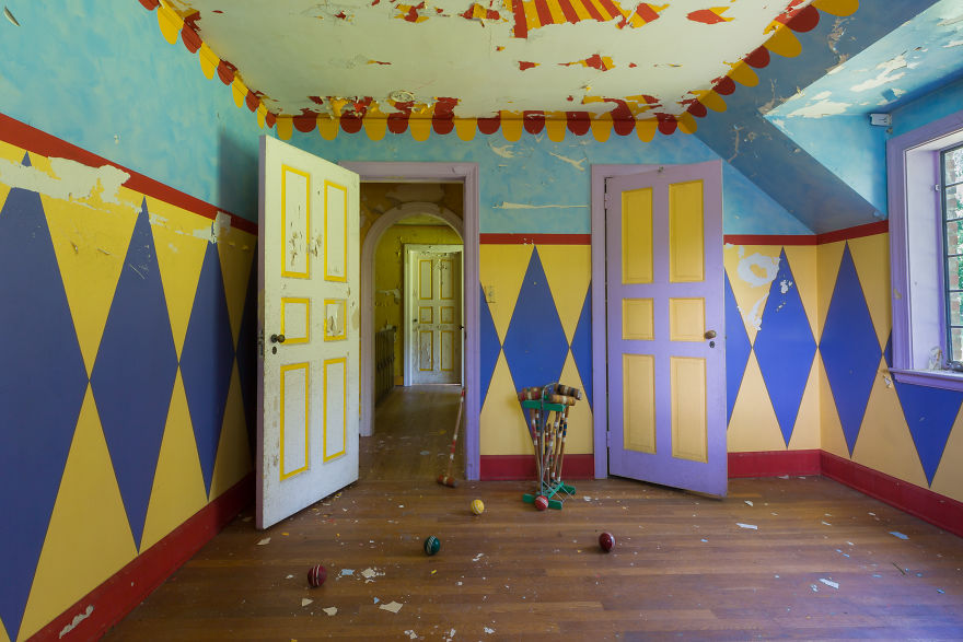 A Clown Child's Bedroom