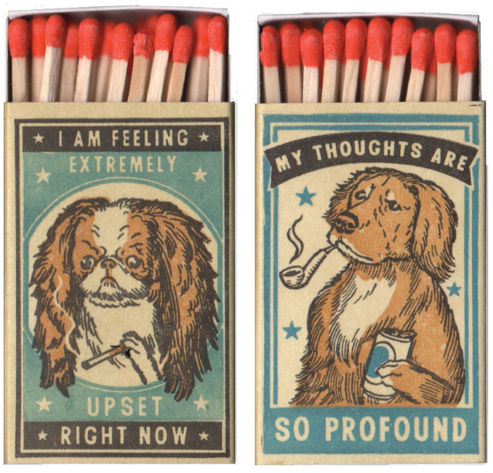 I Created Matchboxes Featuring Different Dog Breeds With