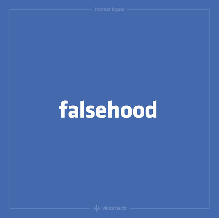 Honest Logos – I Remake Famous Logos And Give Them A More Truthful Meaning