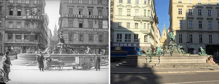 Neuer Markt 1910 vs. 2018