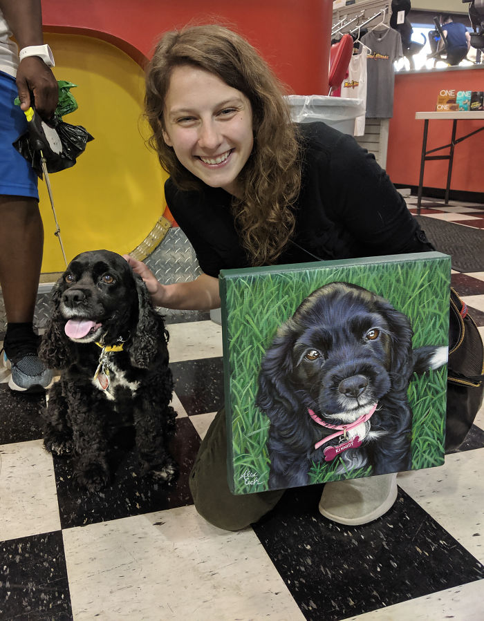 Kinnidy, Me, And Her Puppy Portrait