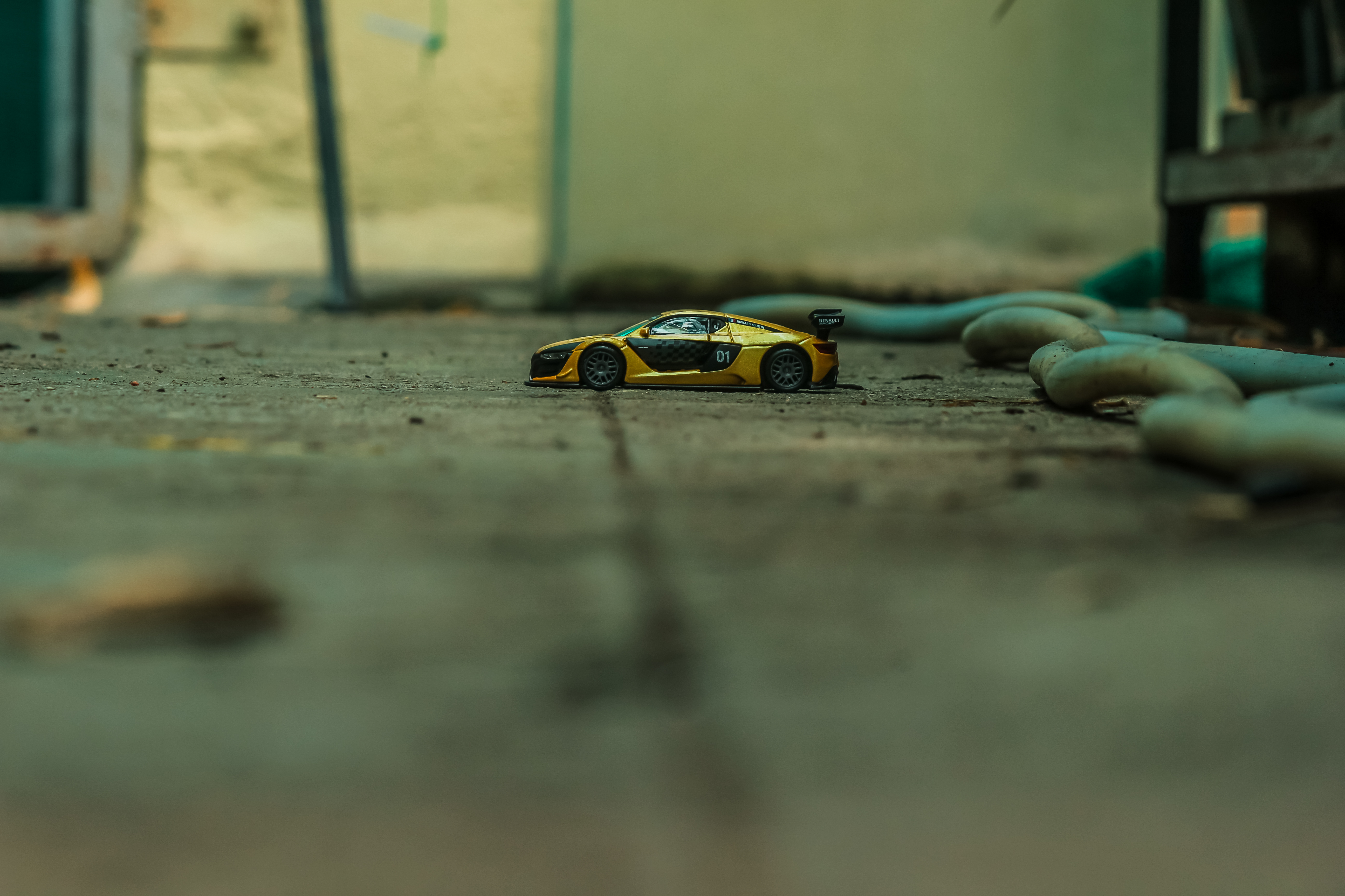 I Shot The Diecast Race Collezione In The Greenhouse.