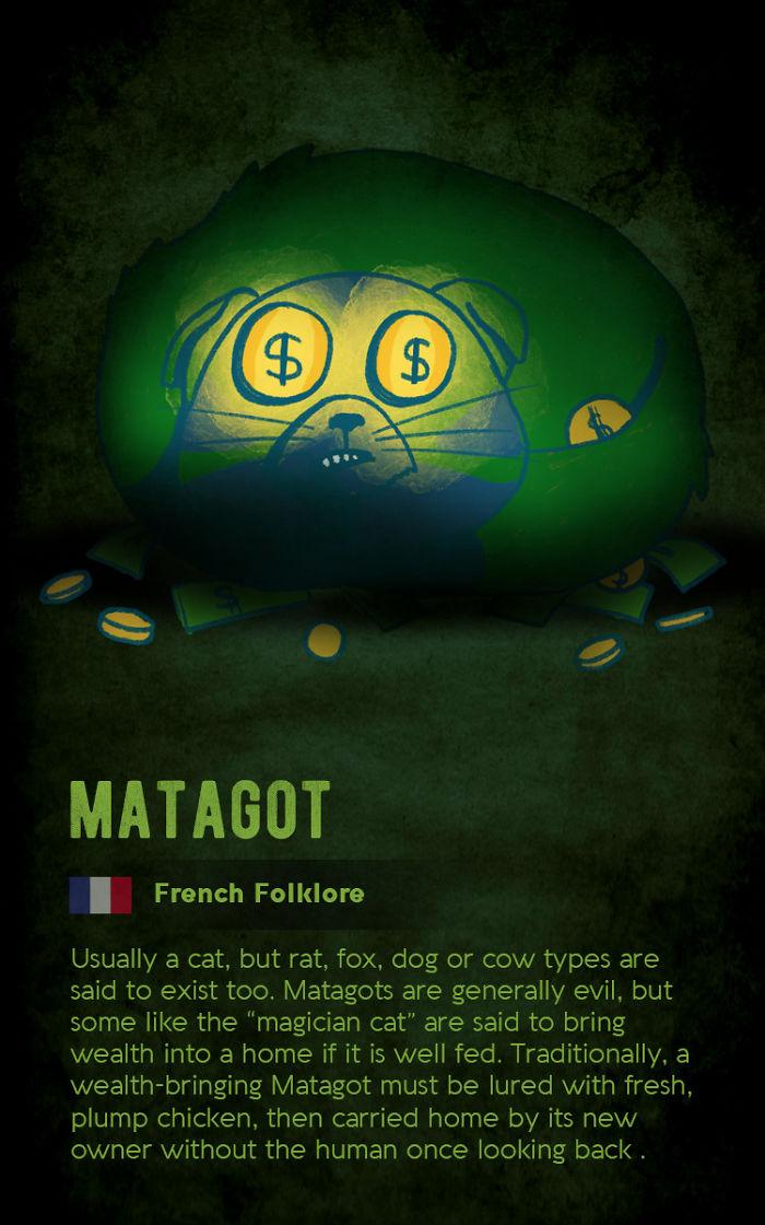 Matagot - French Folklore