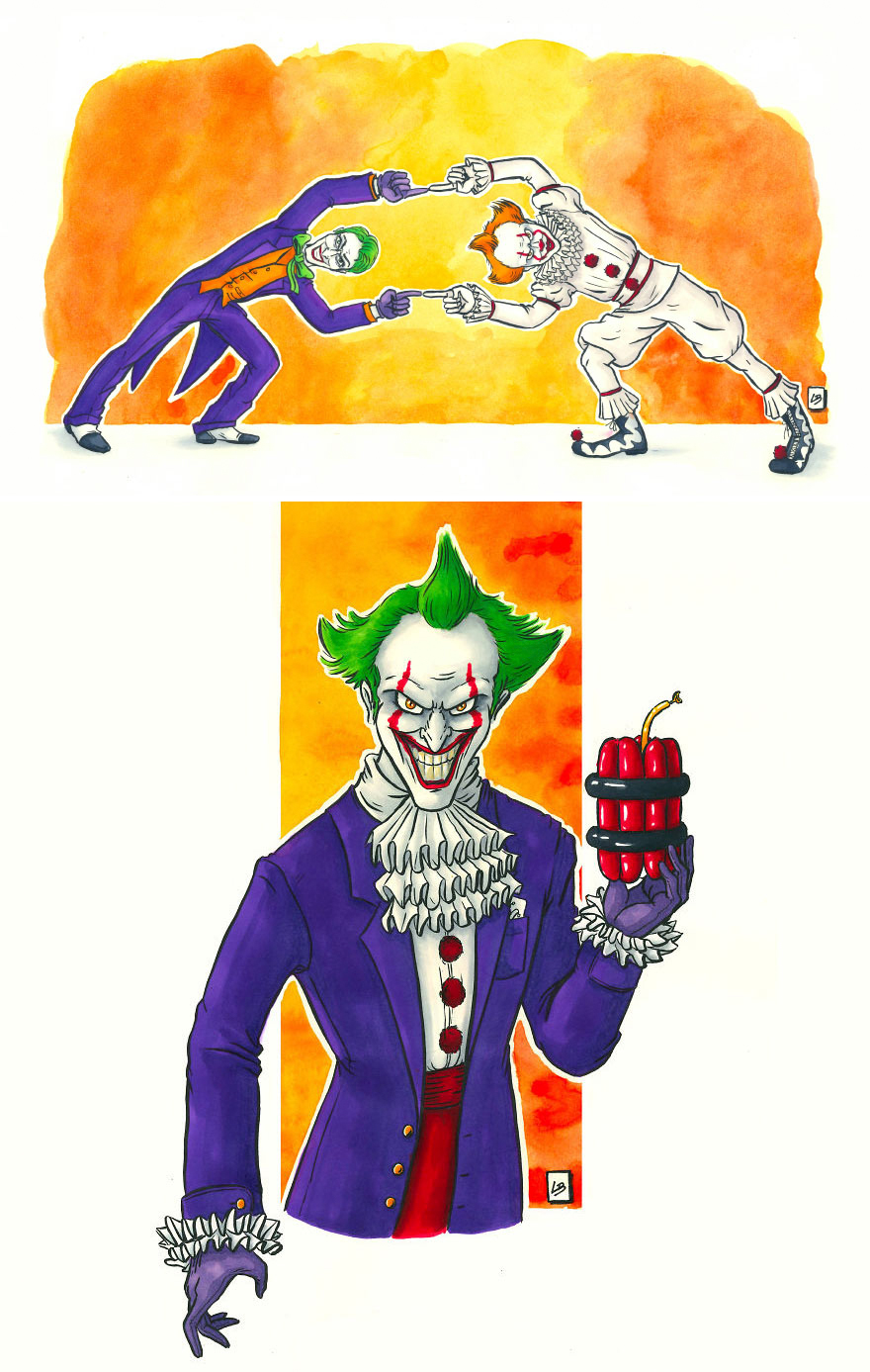 The Joker x Pennywise
