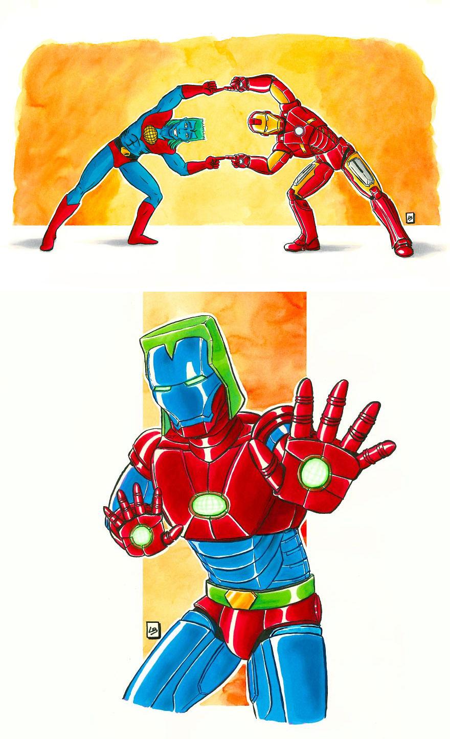 Captain Planet x Iron Man