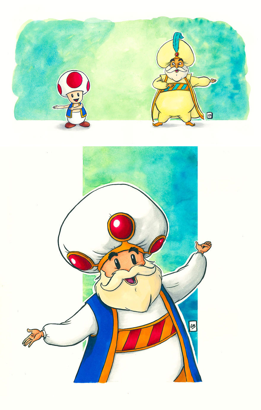 Toad x The Sultan