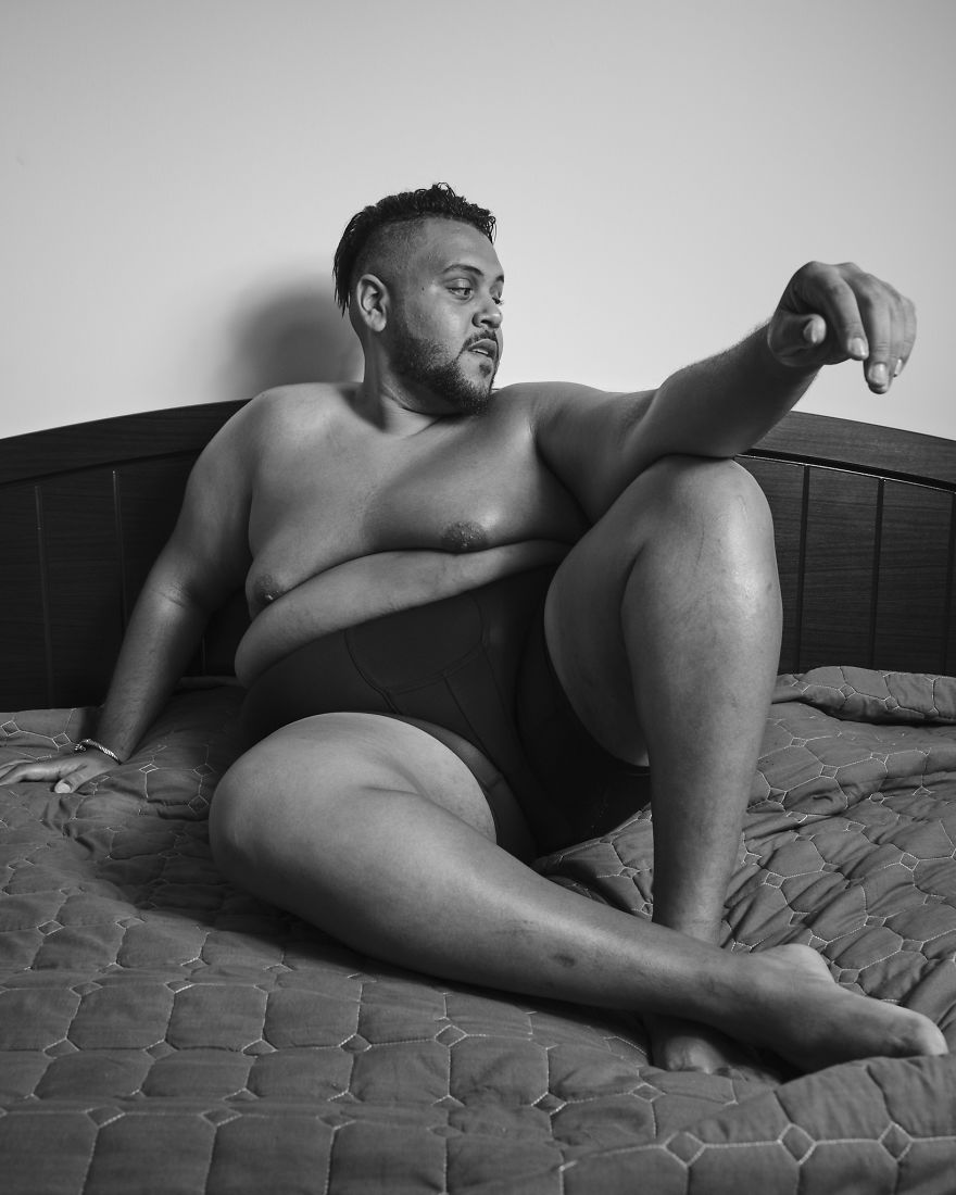 """Hassan """"Tiny"""" Shams: """"I'm Here To Set An Example For Other Plus-Size Individuals"""""""