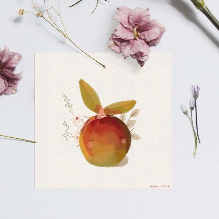 Grumpy Peach