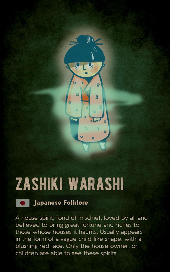 Zashiki Warashi - Japanese Folklore