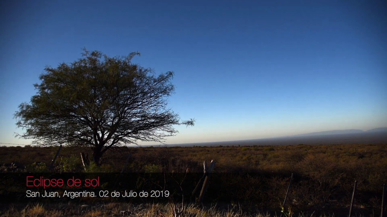 I Made A Time Lapse About The Total Eclipse Of The Sun In Argentina 02/07/2019
