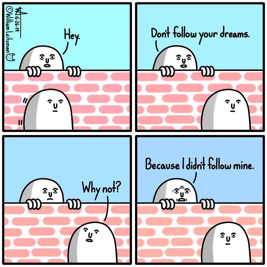 I Didn't Follow Mine