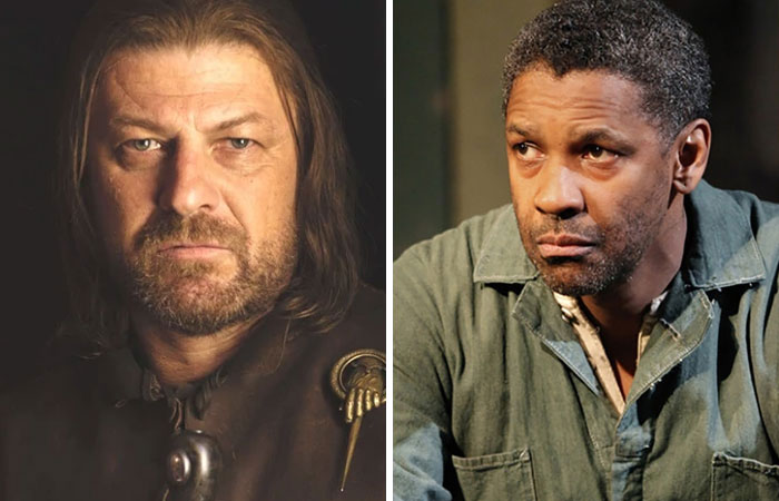 Denzel Washington As Eddard Stark