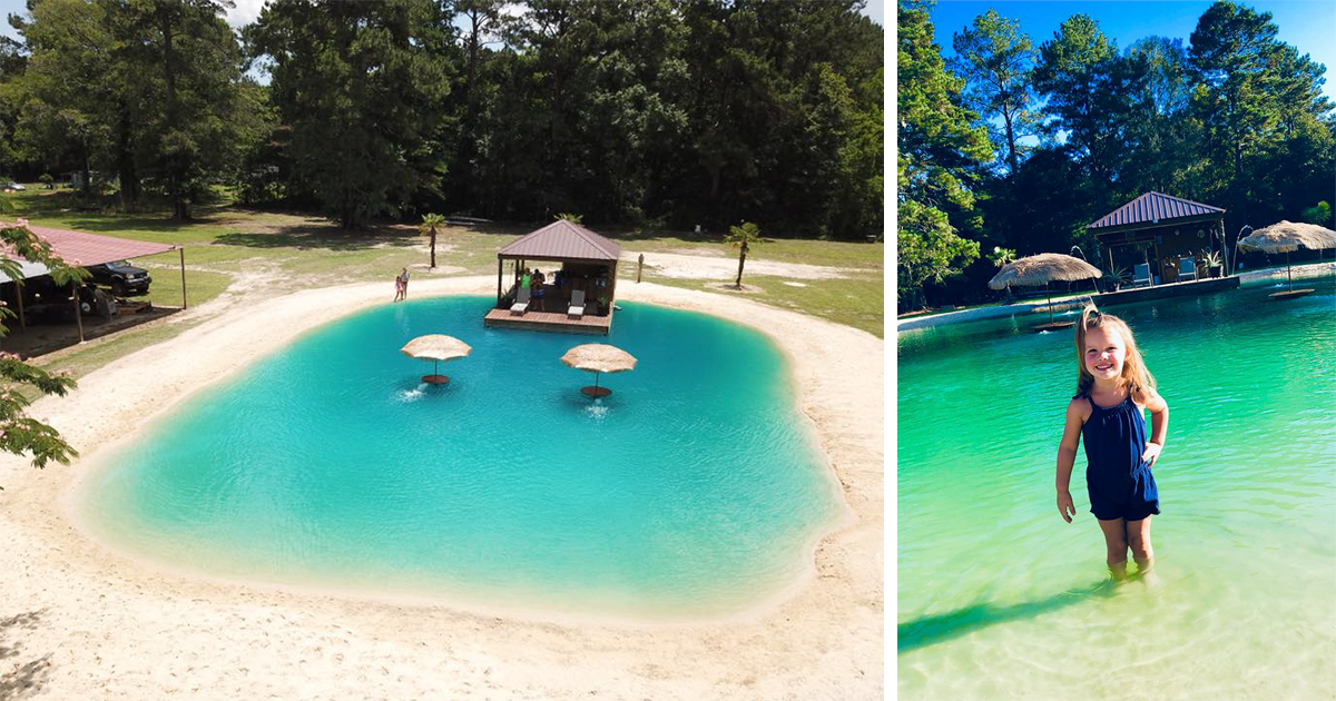 This Guy Came Up With A Plan To Turn Any Backyard Into A Beach