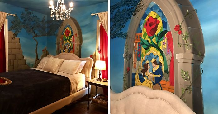 I Transformed My Room Into Castle Chambers Inspired By 'Beauty And The Beast'
