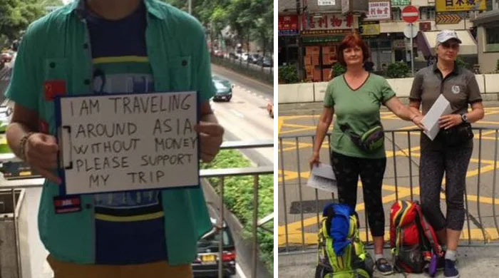Begpackers In Asia
