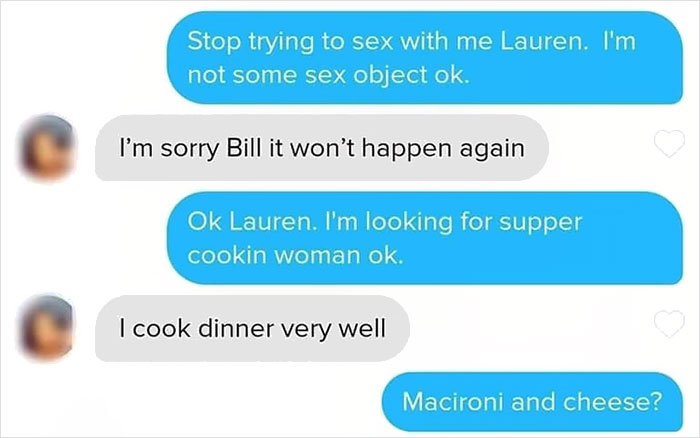 'Bill The Handyman' Tinder Profile Is Epic And Someone Posted The Hilarious Message Exchange They Had