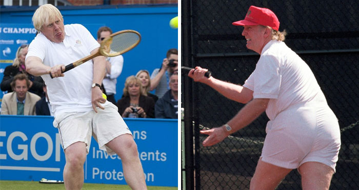 People Put Trump And Boris Johnson Side By Side, And The Resemblance Is Uncanny (9 Pics)