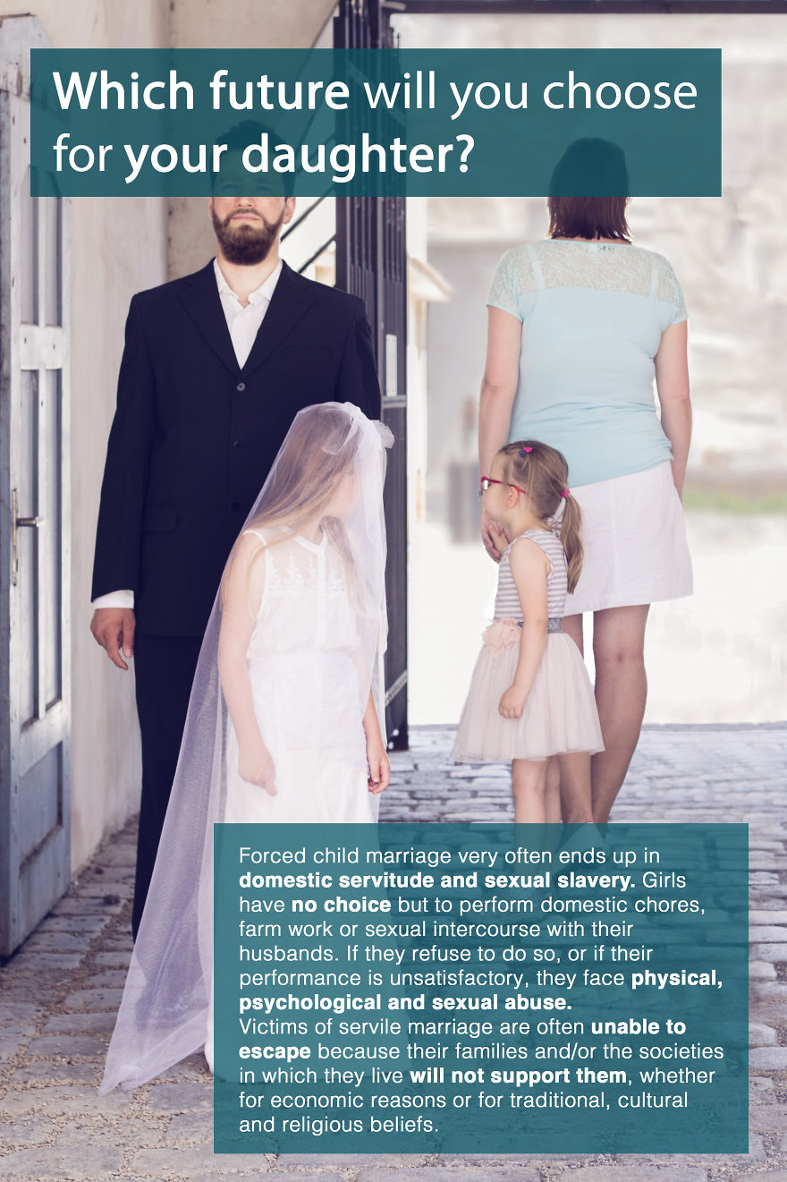 I Created Photo Series To Spread Awareness About Child Marriage