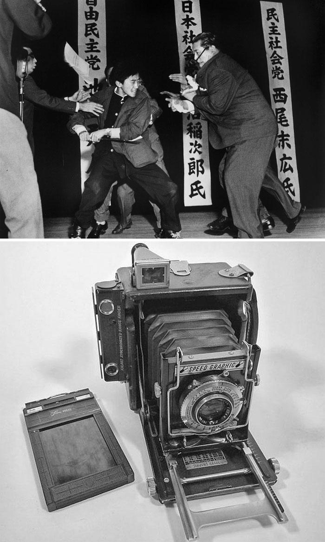 """Tokyo Stabbing"" By Yasushi Nagao, 1960 / Speed Graphic"