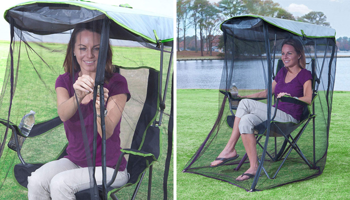 Amazon Is Selling This Canopy Chair That Protects You From Bugs