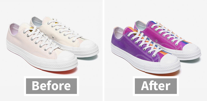 When In Direct Sunlight, These New Converse Shoes Will Start Changing Colors