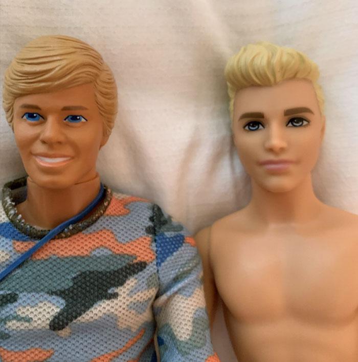 Ken 1985 vs. Ken 2018