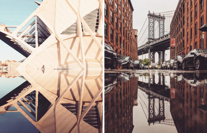 I Continue To Travel To Parallel Worlds Of Puddles And Perspective With My Smartphone To Capture The World Differently