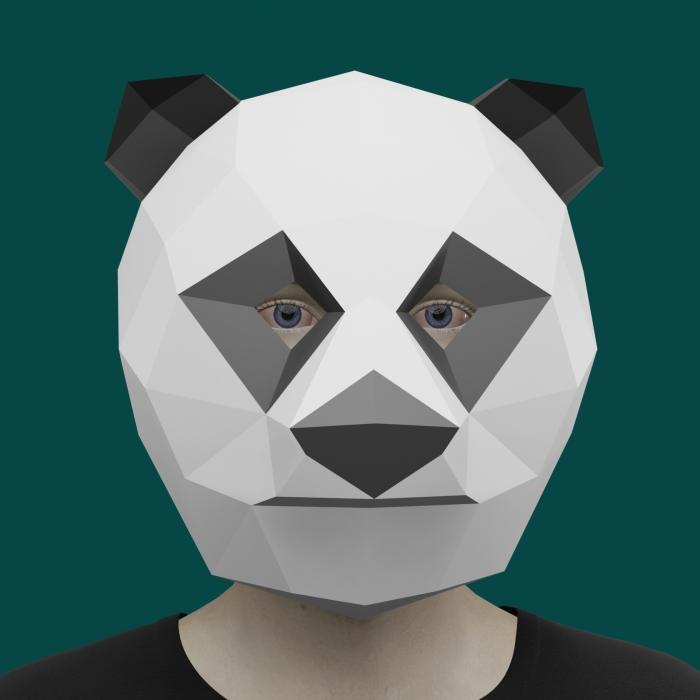 I Make Papercraft Masks