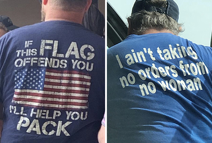30 Times People Were Trying Too Hard To Look Cool With Their 'Badass' T-Shirts