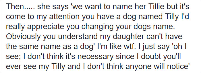 Woman Demands This Dog's Name Be Changed Because That's How
