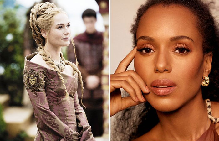 Kerry Washington As Cersei Lannister