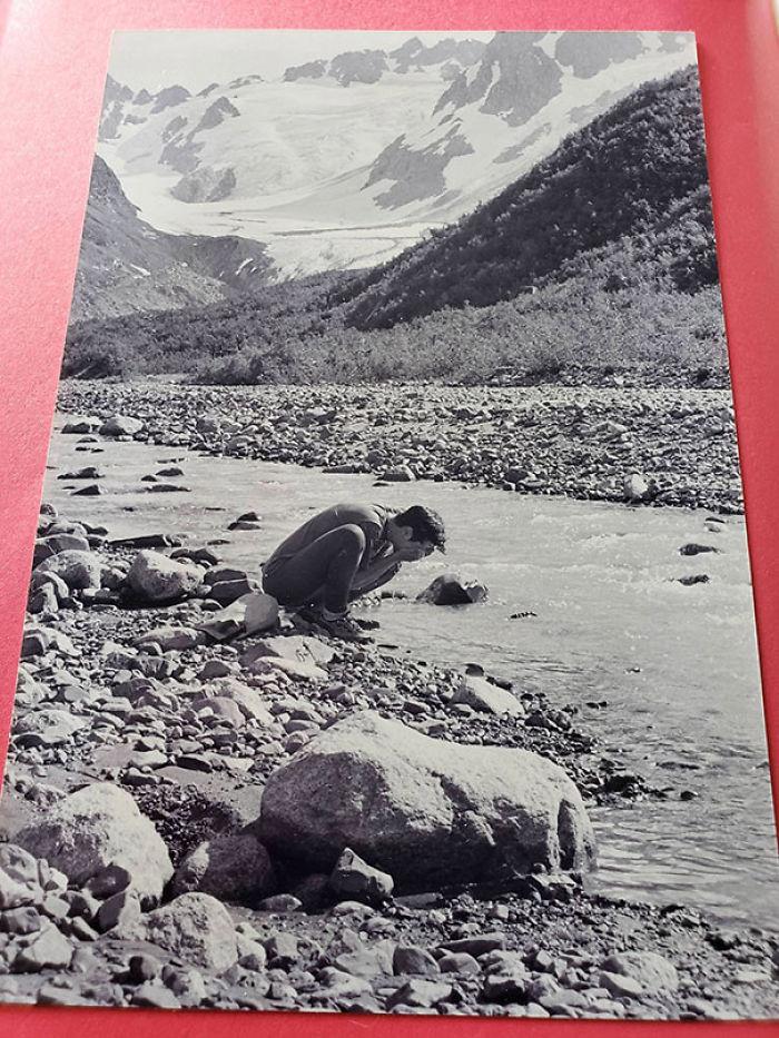 Foto preciosa encontrada en un libro sobre las aves de Alaska