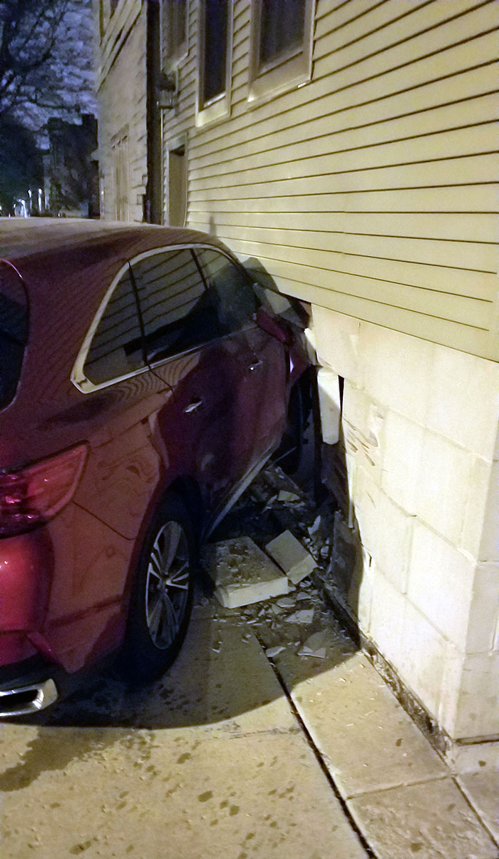Car Crashed Into My Living Room