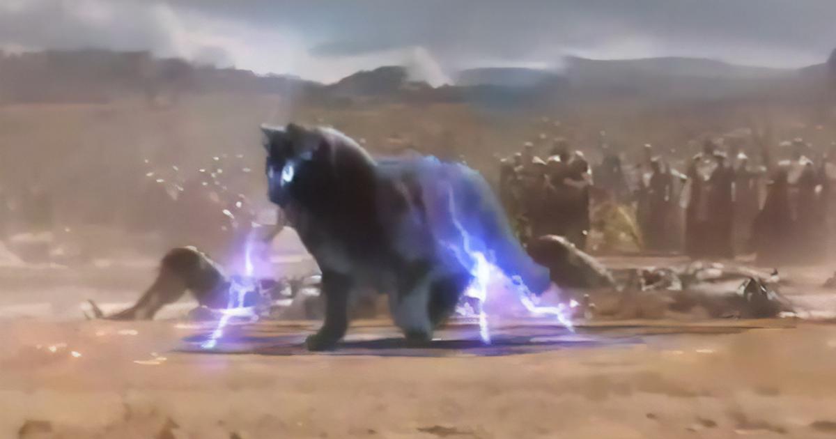 Mejora escenas de películas introduciendo a su gato en ellas