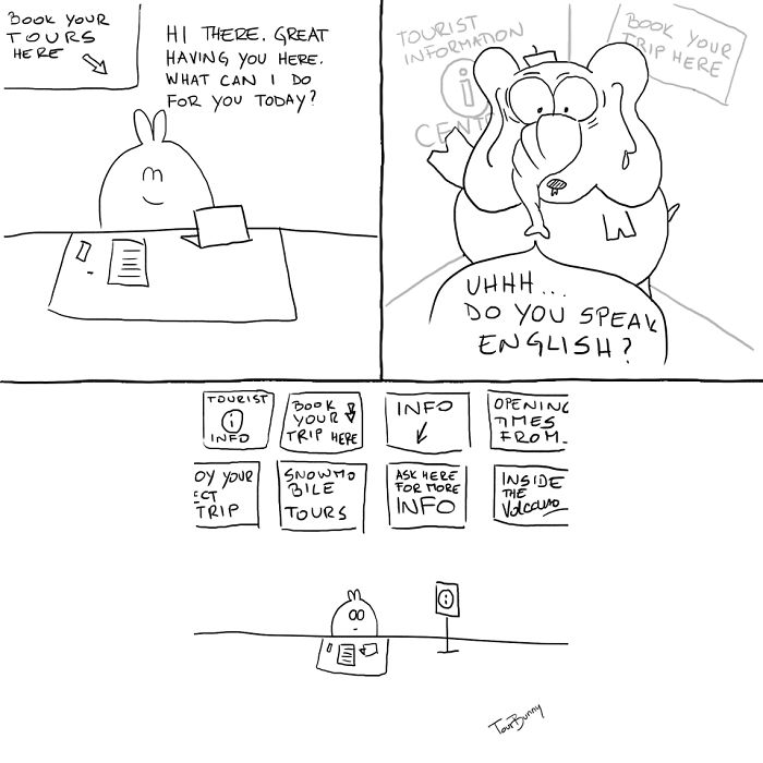 The Tourbunny - 15 Relatable Comics About Encounters With Horrible Tourists
