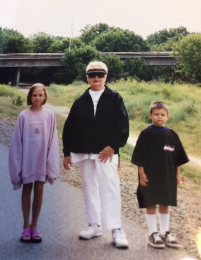 My Grandmother Used To Love Buying My Sister And Me Clothes. Too Bad They Were Always XXL