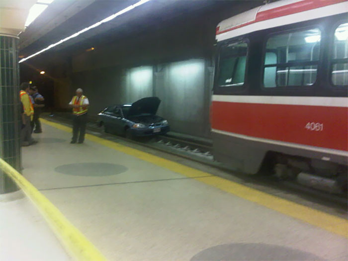 Car In The Subway