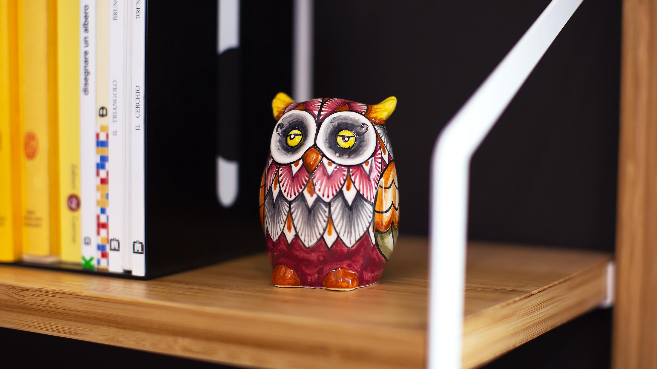 I Handmade A Ceramic Owl