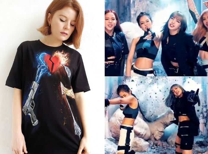 """Blackpink's """"Let's Kill This Love"""" T-Shirt"""