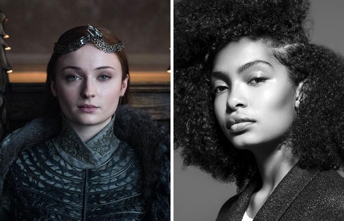 Yara Shahidi As Sansa Stark