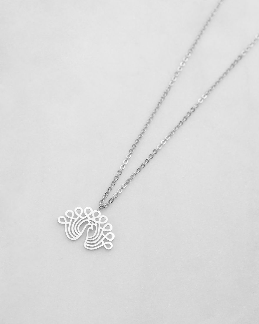 I Create Intricate Silver Pendants Based On My Papercuts (19 Pics)