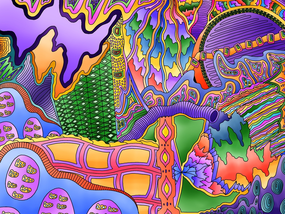 I Spent The Last Year Creating Digital Psychedelic Artwork