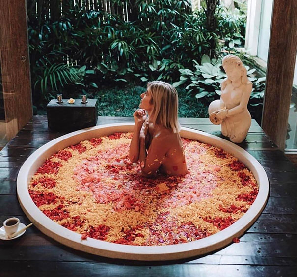 Bathing In A Forbidden Pizza