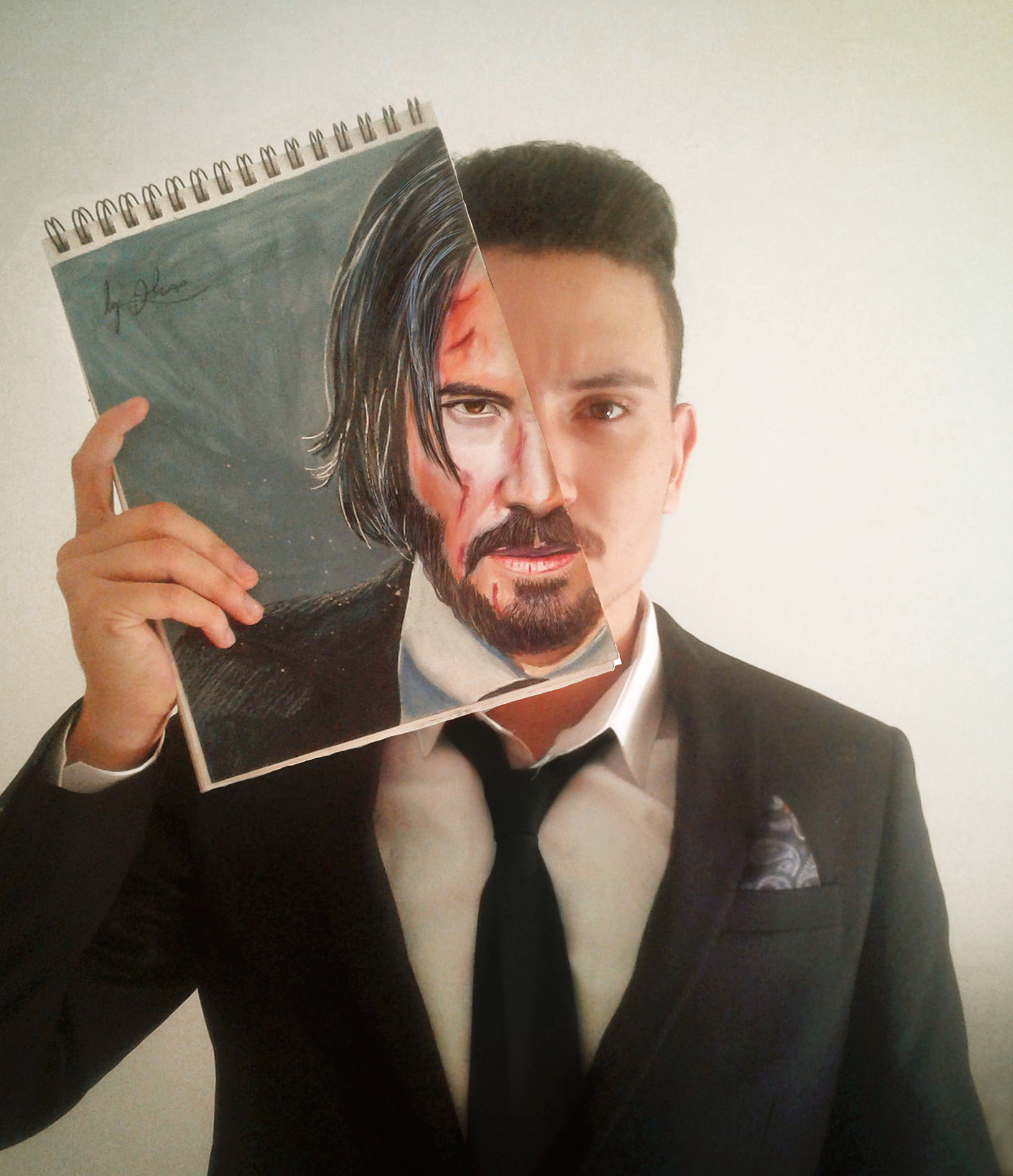 My John Wick Drawing !!!!